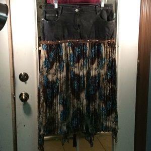 Beautiful Western look skirt